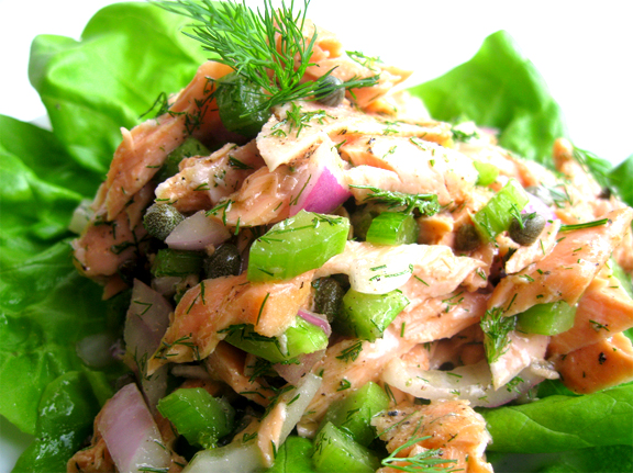Salmon Salad picture