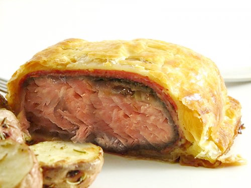 Salmon Wellington picture