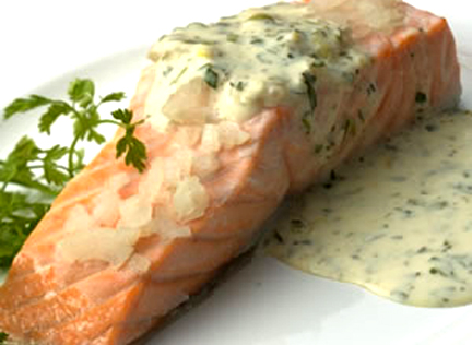 Salmon with Butter Sauce picture