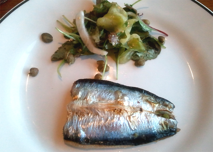 Sardine And Beet Salad picture