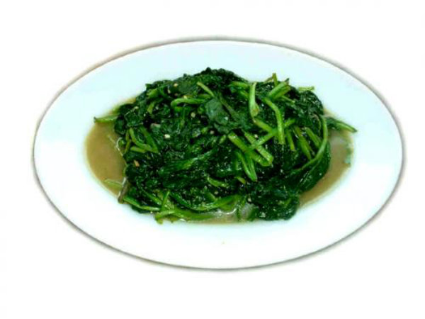 Soy Braised Spinach picture