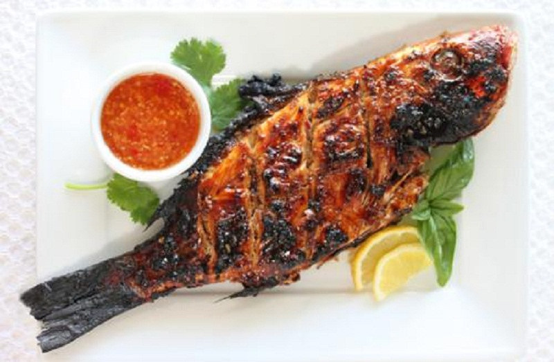 Saucy Grilled Trout picture