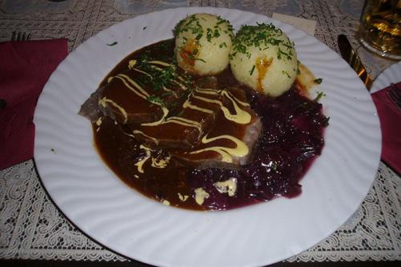 Sauerbraten With Sauce And Marinade picture