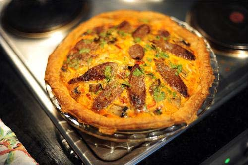 Sausage And Egg Pie picture