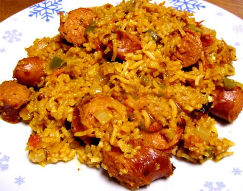 Sausage And Rice Pilaf picture