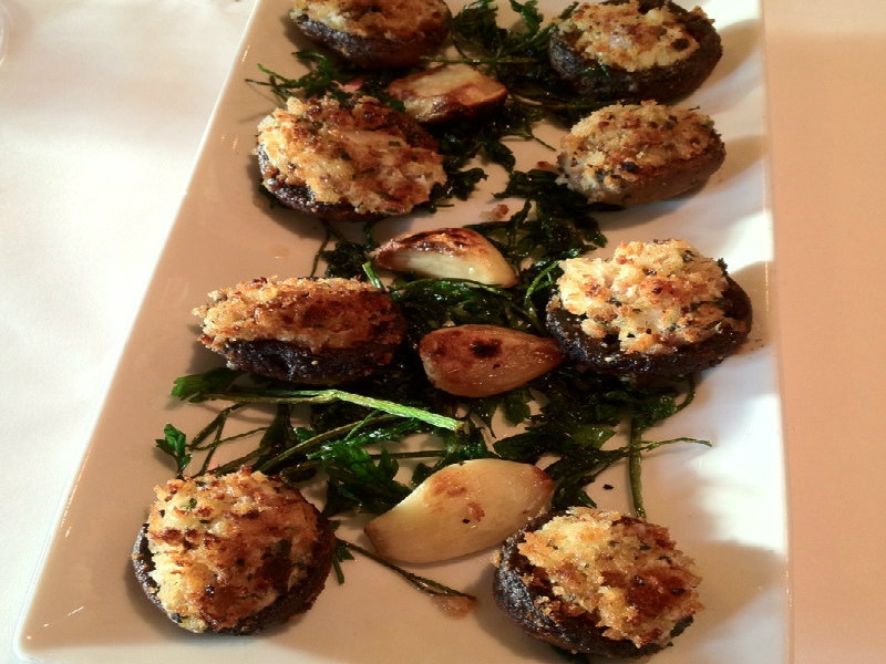 Spicy Stuffed Mushrooms picture