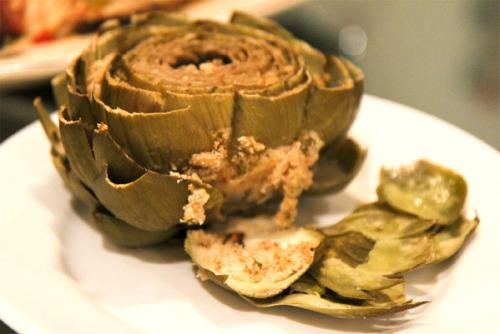 Sauteed Baby Artichokes picture
