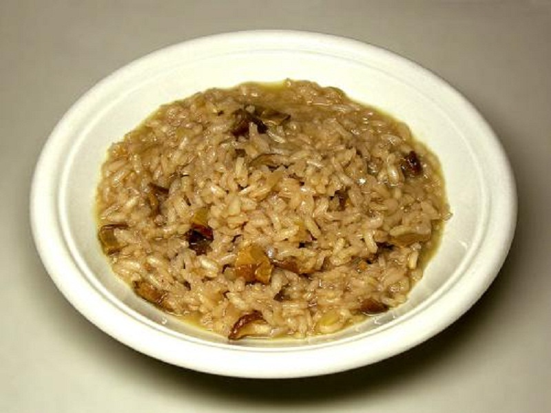 Sauteed Brown Rice and Mushrooms picture