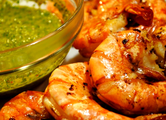 Sauteed Garlic Prawns picture
