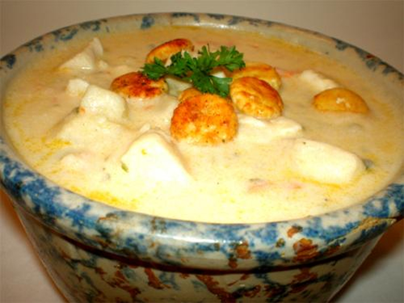 Hot Scallop Chowder picture
