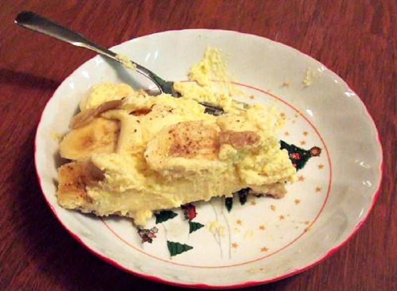 Scotch Banana Pie    picture