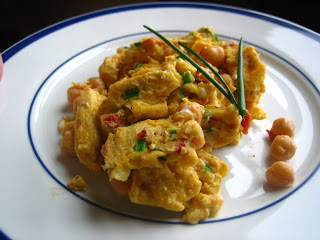 Chick Peas And Egg Scramble picture