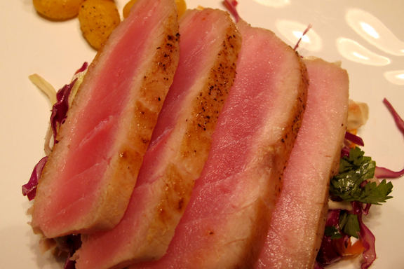 Seared Ahi Tuna Steaks picture