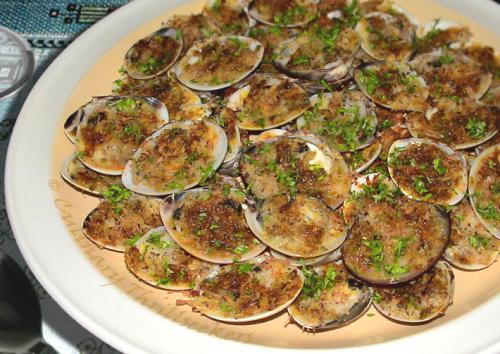 Sesame Baked Clams picture