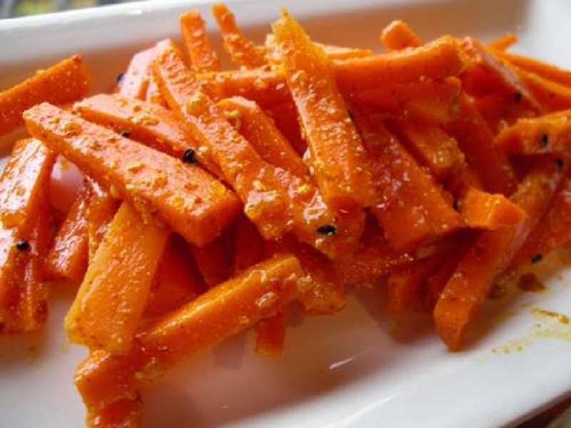 Sesame Carrots picture