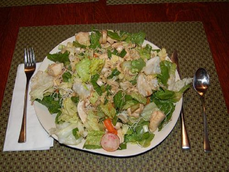 Seven-Layer Chinese Chicken Salad picture