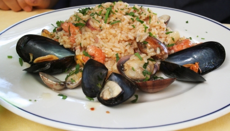 Olive Garden – Shrimp and Asparagus Risotto picture