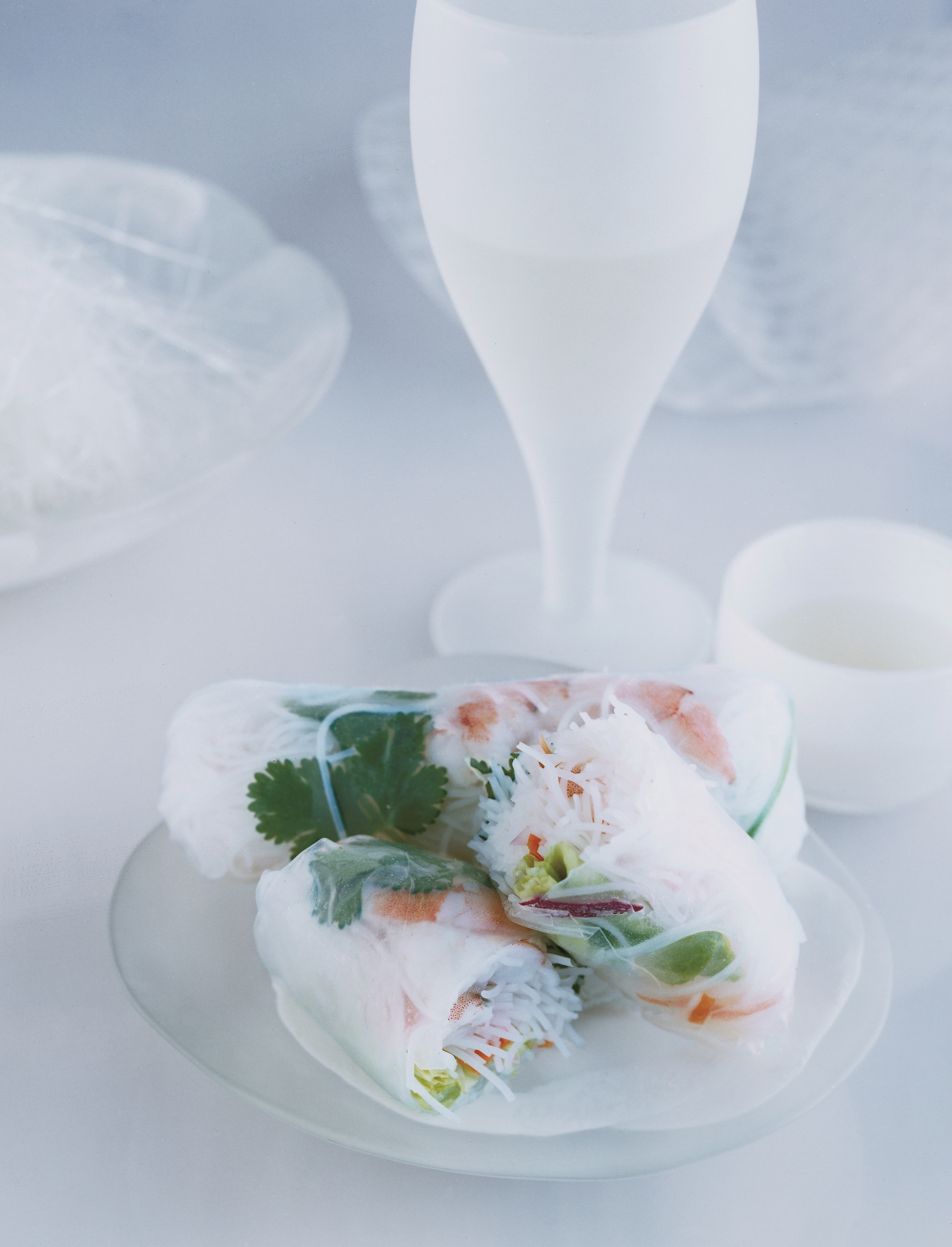 Shrimp and Vegetable Summer Rolls picture