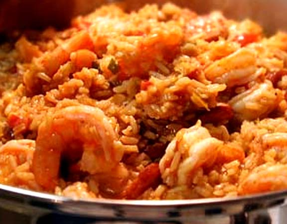 Deli Ham And Sausage Jambalaya picture