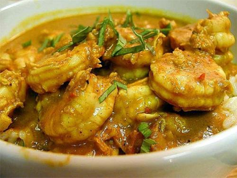 Shrimp Curry with Potatoes picture