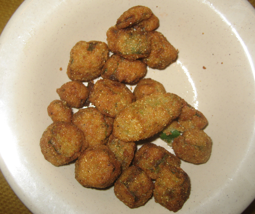 Simple Fried Okra picture