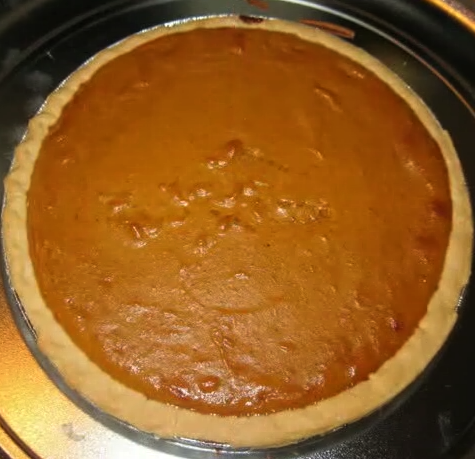 Simple Pumpkin Pie  picture