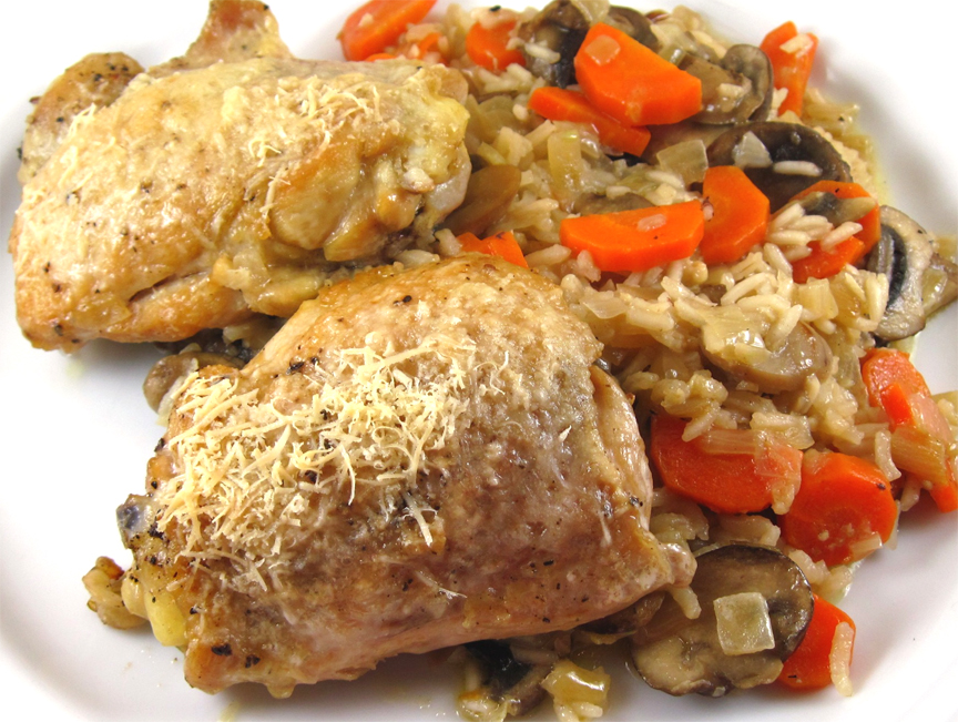 Skillet Chicken and Rice picture