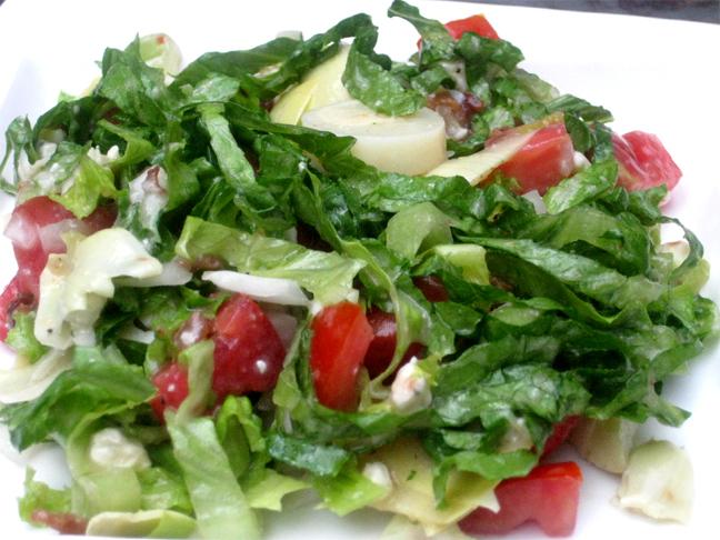 Slimmer's Danish Salad picture