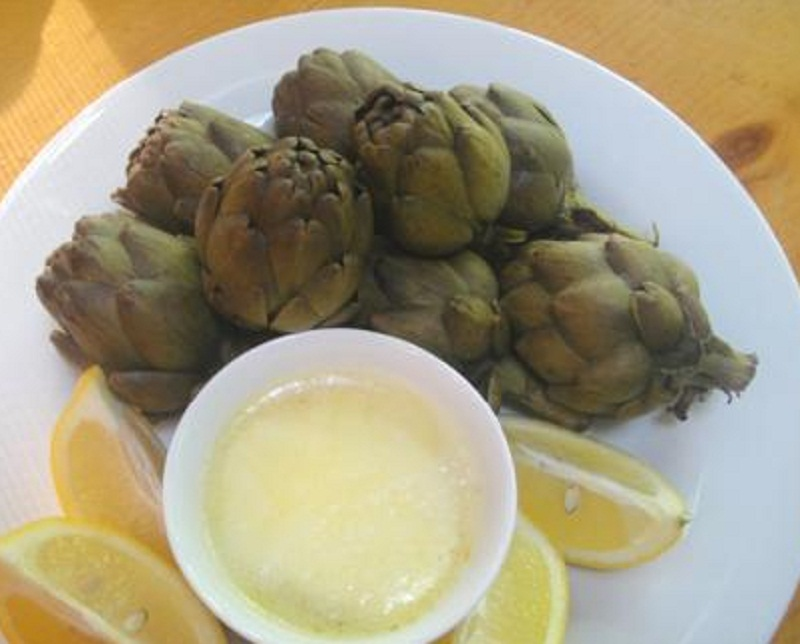 Slow Cooked Artichokes picture