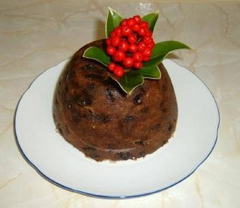 Slow Cooked Fruit Pudding picture