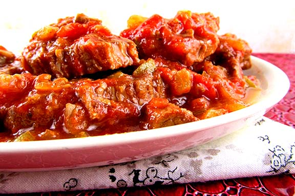 Slow Cooked Swiss Steak picture
