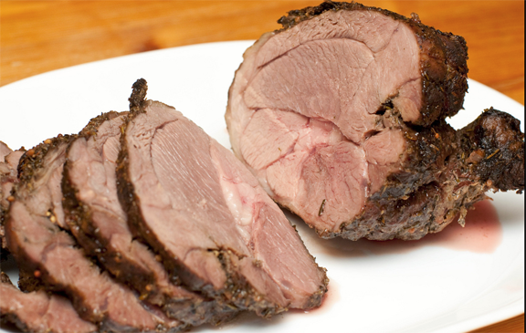 Slow Roasted Leg Of Lamb picture