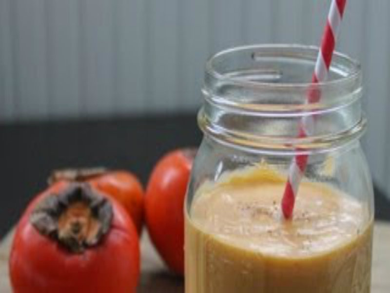 Persimmon Creamsicle Smoothie picture