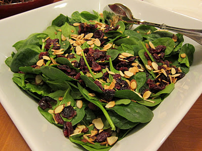 Cranberry Spinach Salad picture