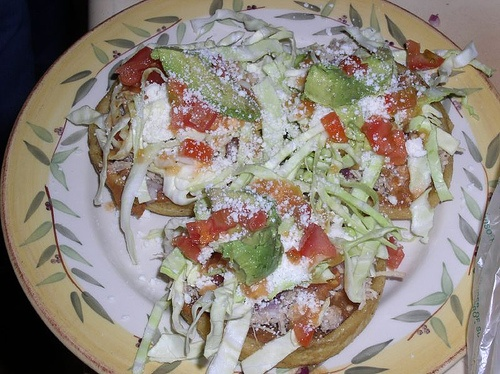 Homemade Sopes picture