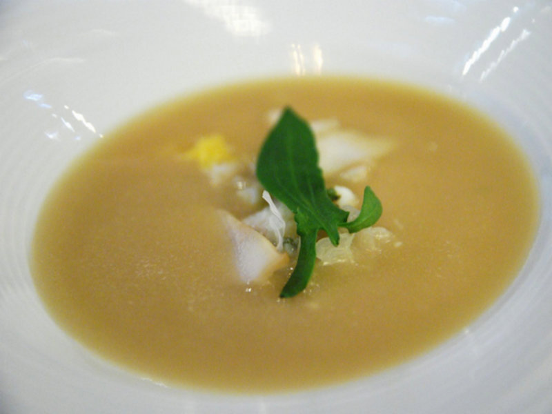 Cream Of Sorrel Soup picture