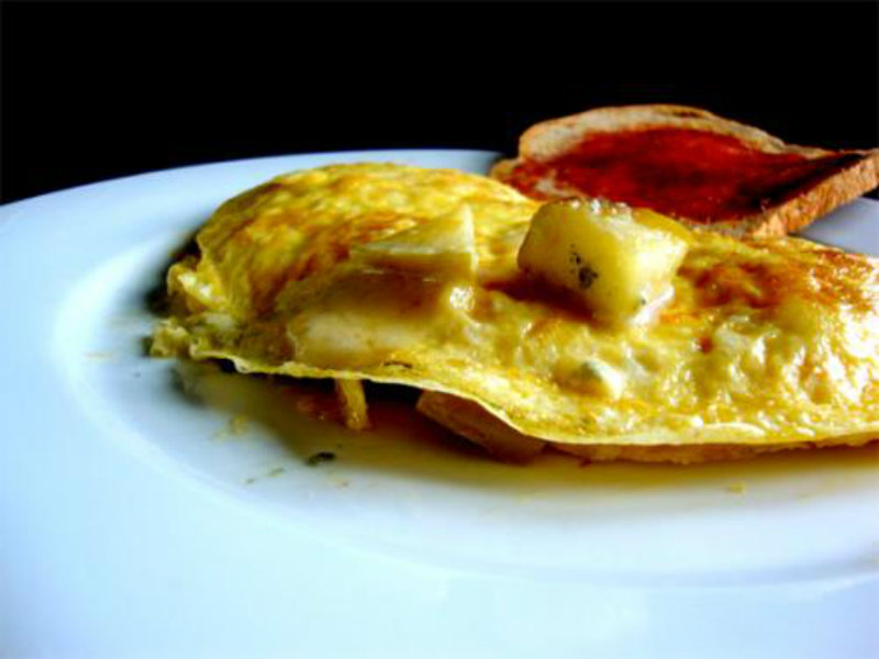 Apple Omelette picture