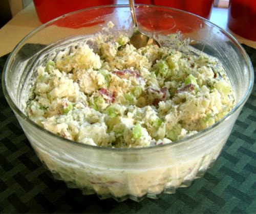 Sour Cream Potato Salad With Mayonnaise picture