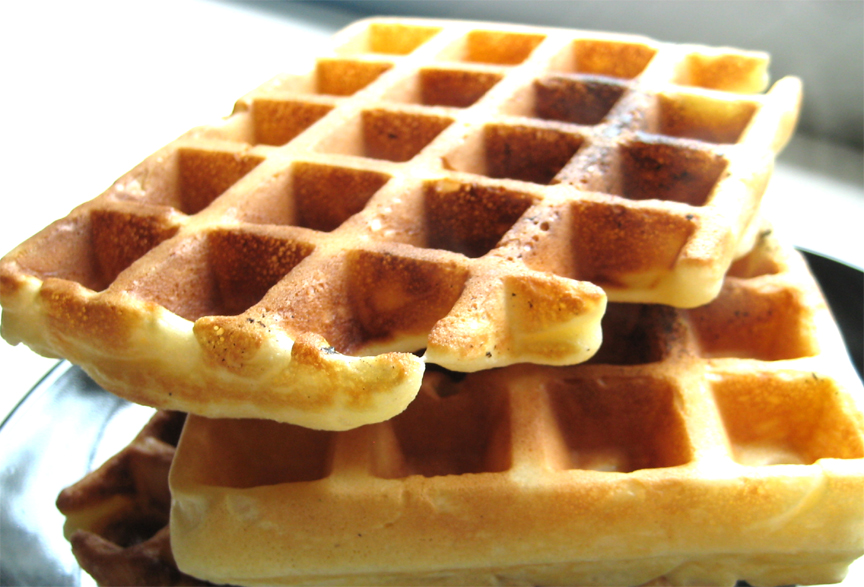 Sour Cream Waffles picture
