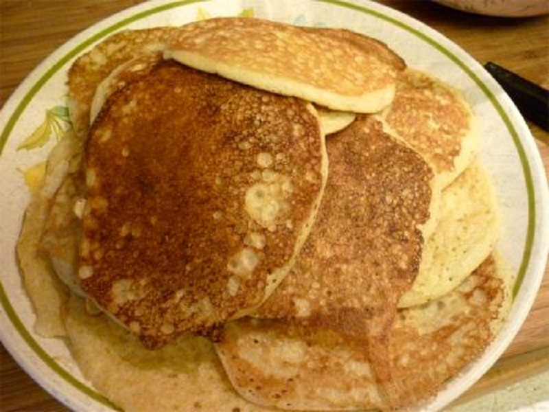 Sour Milk Pancakes picture
