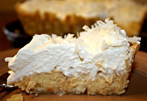 Southern Coconut Pie picture