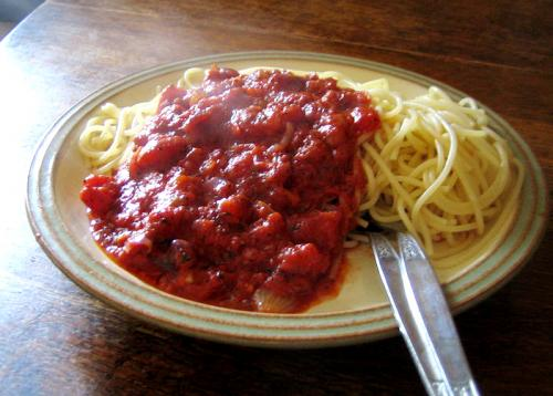 Chicken Spaghetti Sauce picture