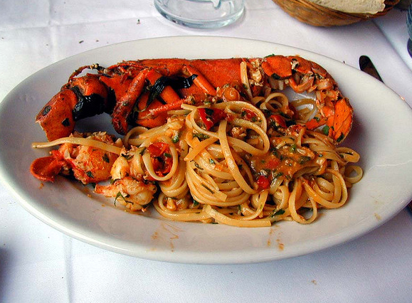 Spaghetti With Lobster picture