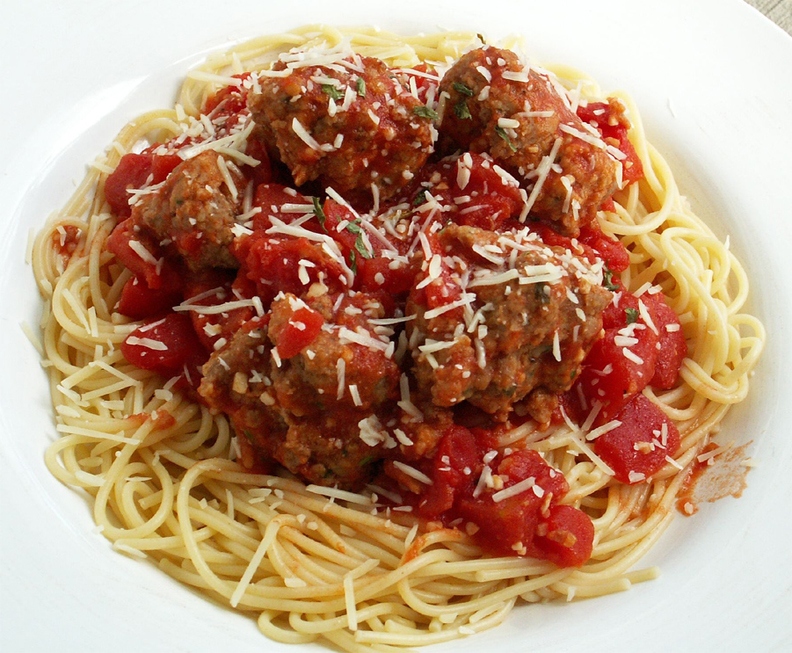 Spaghetti With Meatballs picture