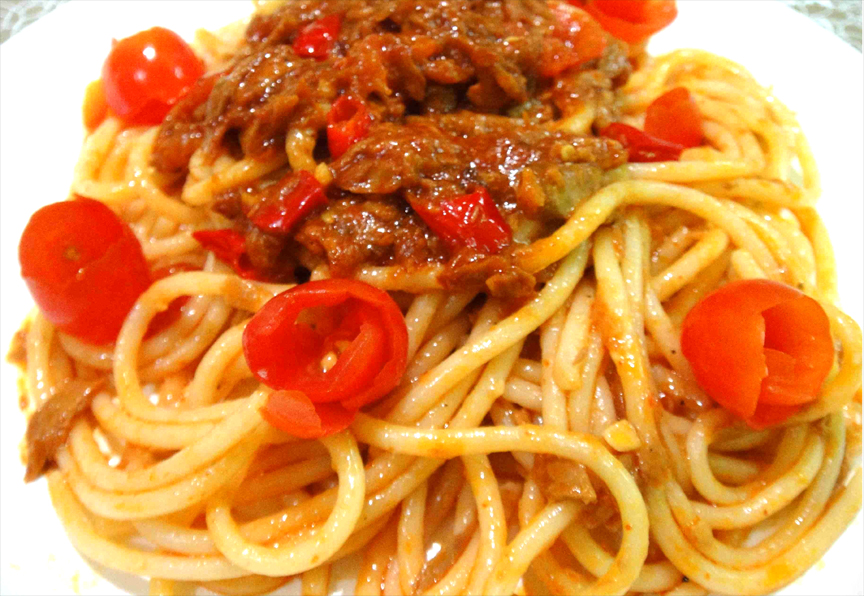 Spaghetti with Tuna picture