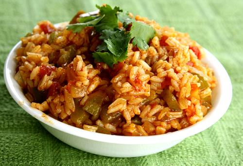 Simple Microwaved Spanish Rice picture