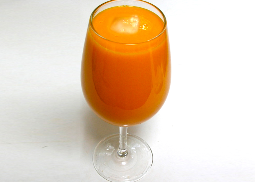 Spiced Carrot Drink picture
