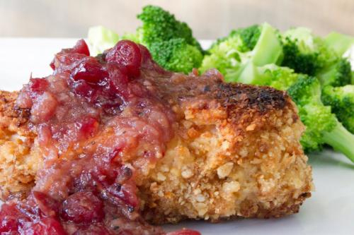 Spiced Cranberry Chicken    picture