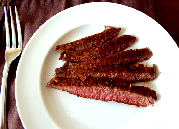 Spiced Flank Steak picture