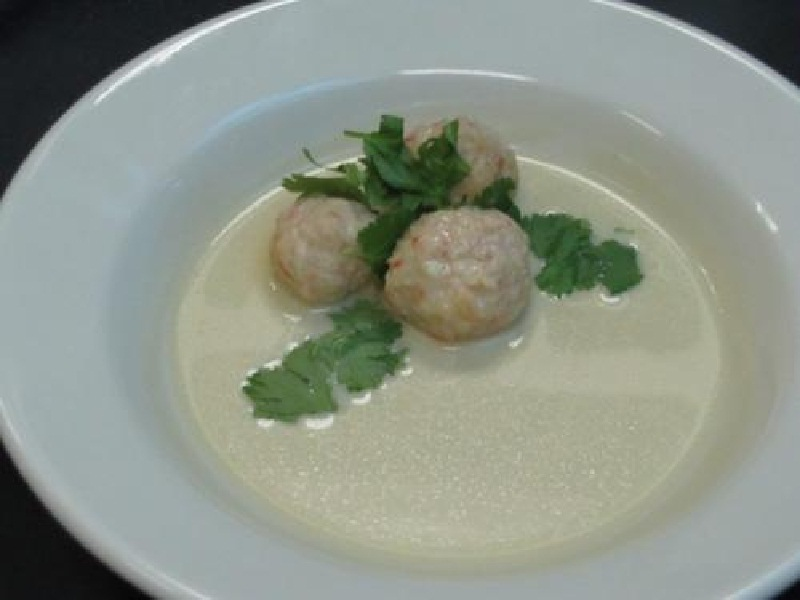 Spicy Beef Balls In Milk Gravy picture